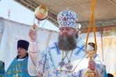 Митрополит Ростовский и Новочеркасский Меркурий совершил литургию на месте разрушенной…