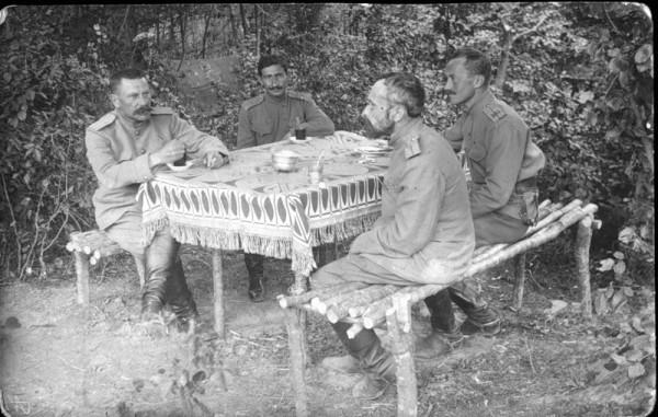 Река Горынь, октябрь 1915 года