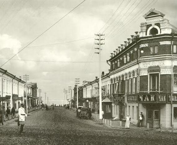 Вятка. Спасская улица (Дрелевского). Вид на восток