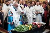 Глава УПЦ совершил отпевание сотника батальона «Айдар»