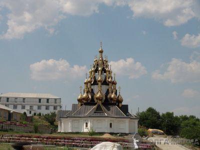 Уникальный 33-купольный храм освятят в Волгоградской области