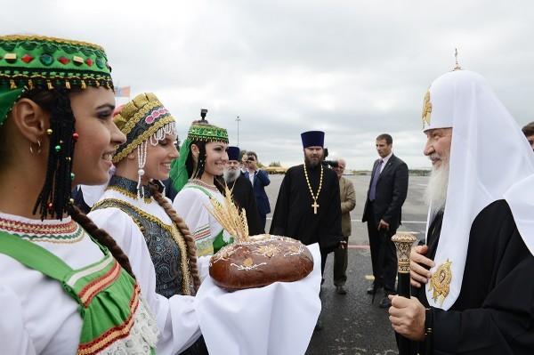 Патриарх Кирилл прибыл в Тамбов