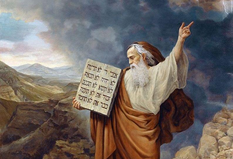 два завещание богом моисею о других народах сколько