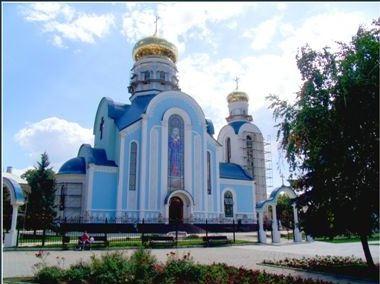 По луганскому храму нанесен артиллерийский удар (+ВИДЕО)