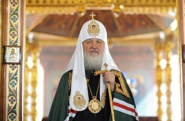 Патриарх Кирилл поздравил Петра Порошенко с Днем независимости Украины