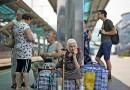 В Москву прибывает все больше беженцев с Украины – служба «Милосердие»