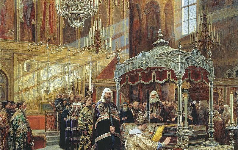 Путешествие Новгородского митрополита Никона в Соловецкий монастырь за мощами святителя Филиппа
