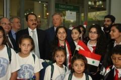 Патриарх Кирилл встретился с детьми из Сирии