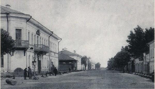 Ярославская улица Мологи.