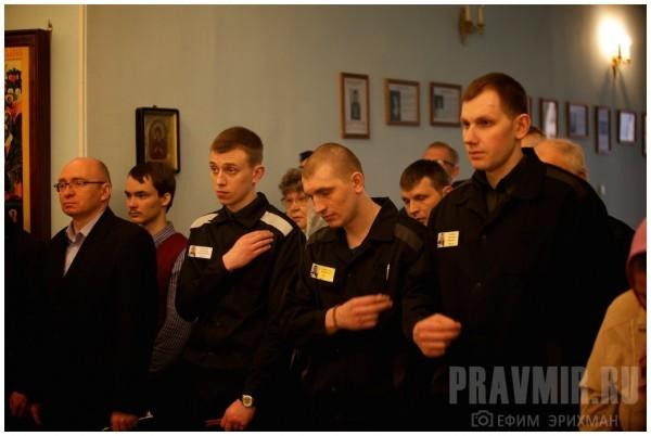 Заключенным позволят беседовать со священником наедине