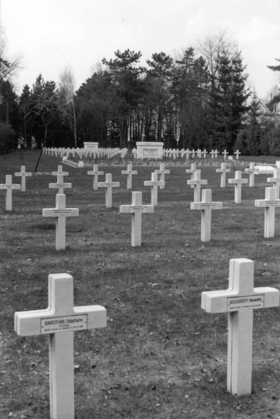 Воинское кладбище в Мурмелоне