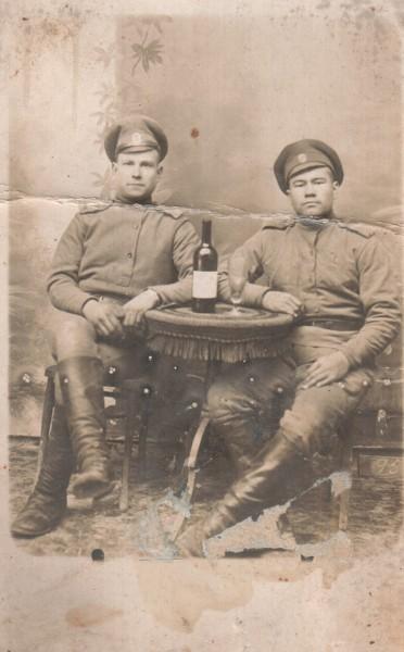 Михаил Филимонов. 1917 год.