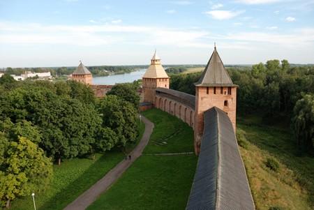 В Великом Новгороде представили мультимедийную панораму древнего города в храме XII века