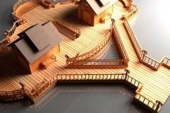 В монастыре под Хабаровском строят плавучую Крещенскую купель
