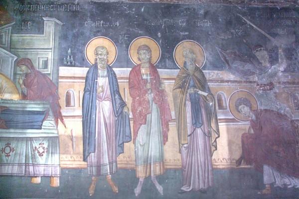 Церковь чтит память священномучеников Ермолая, Ермиппа и Ермократа, иереев Никомидийских