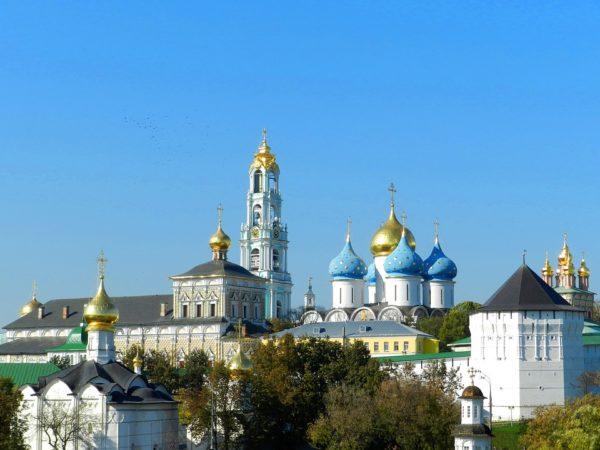 Монастыри России. Троице-Сергиева Лавра