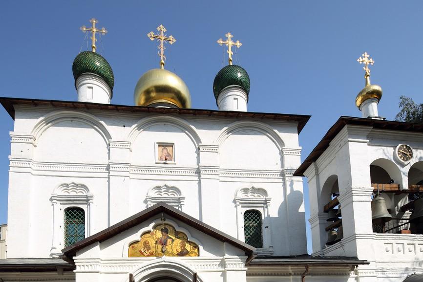 Сретенский монастырь. Паломнику