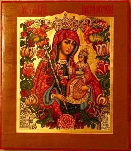 В Одесской епархии установлен местный праздник в честь иконы Божией Матери «Благоуханный цвет»
