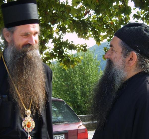 Епископ Будимлянско-Никшичский  Иоанникий и архимандрит Лука (+8 февраля 2012)