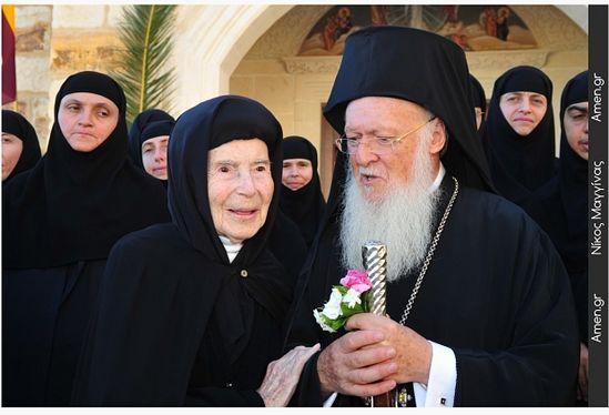 На 107 году жизни отошла ко Господу самая пожилая монахиня-гречанка