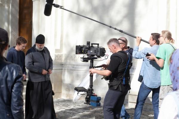 Студенты Московской духовной академии приняли участие в съемках фильма
