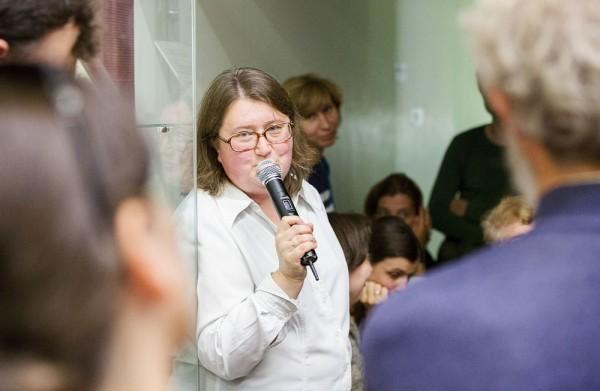 Светлана Чукавина, руководитель Музейно-выставочного отдела Культурно-просветительского фонда «Преображение»