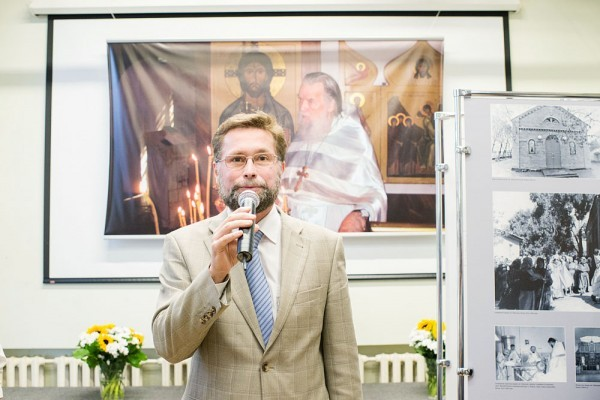 Дмитрий Гасак, проректор Свято-Филаретовского института и председатель Преображенского братства