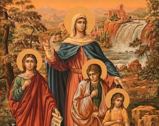 Вера, Надежда, Любовь, София: любящих Христа не сломить
