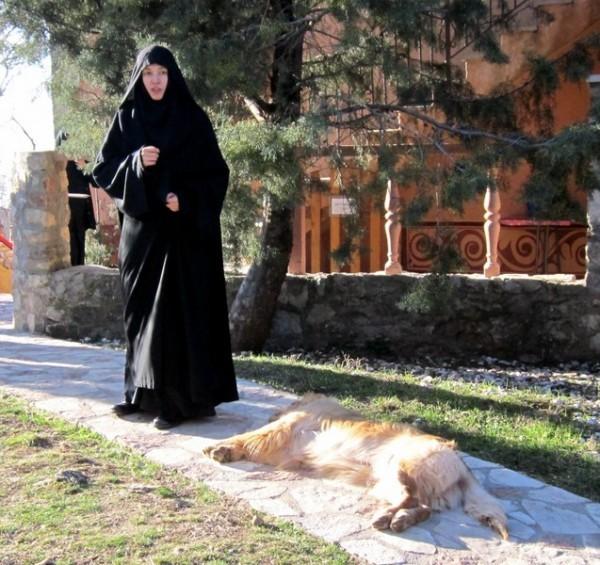 В монастыре Рустово