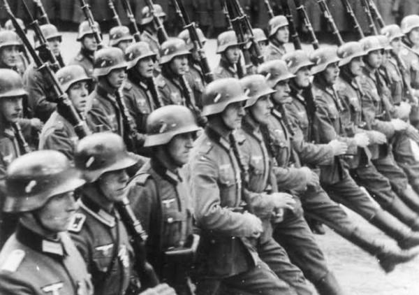 Вторая мировая война. Первые залпы