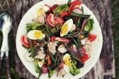 Осенний салат Нисуаз: Видеорецепт от Анны Людковской