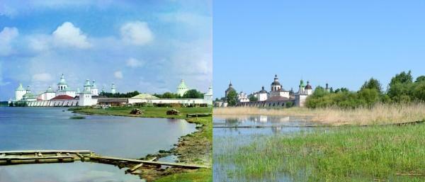 Кирилло-Белозерский монастырь. 1909/2013. (В. Ратников)