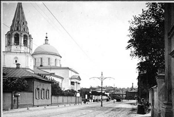 Большое Вознесение у Никитских ворот, фото XIX века