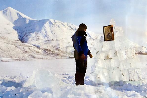 Казанский образ Божией Матери оберегал экспедицию дайверов на Полюс Холода