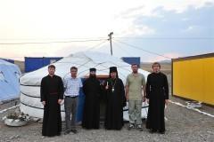 В Кызыльской епархии появилась часовня-юрта