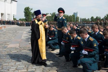 В Русской Православной Церкви станет больше военных капелланов
