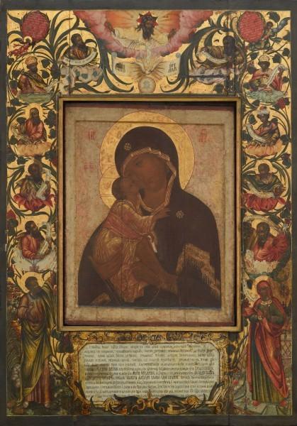 Донская икона из Большого собора Донского монастыря