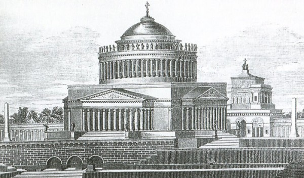Храм Христа Спасителя. Проект Карла Витберга. Фото MoscowStreetsnet