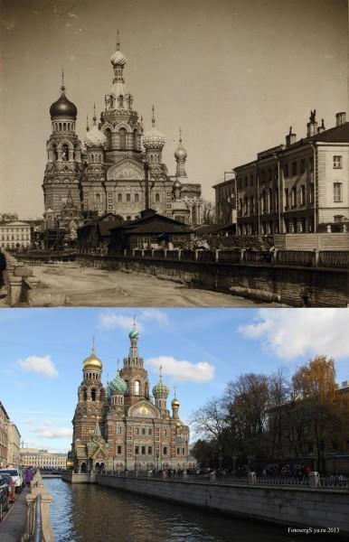 Храм Воскресения на Крови. С.-Петербург. 1905/2013 (Шаров Сергей)