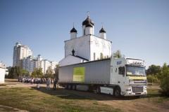 Орловская митрополия направила колонну гуманитарной помощи для украинских беженцев