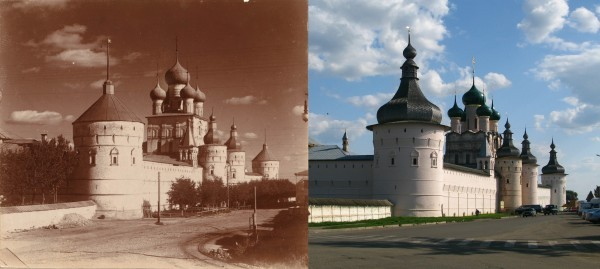 Кремль с северо-запада. Ростов Великий. 1911/2009 (В. Ратников)