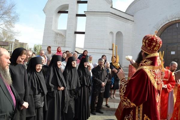 Монахини Иверского монастыря