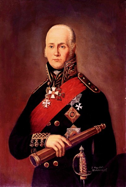 П.Бажанов. Адмирал Ушаков