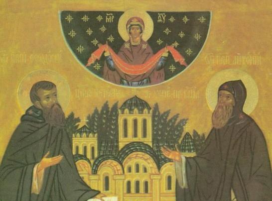 Церковь вспоминает преподобных Антония и Феодосия Печерских