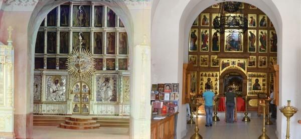Иконостас в Успенском соборе (800 л.) в Старицком монастыре. 1910/2013 (В. Ратников)