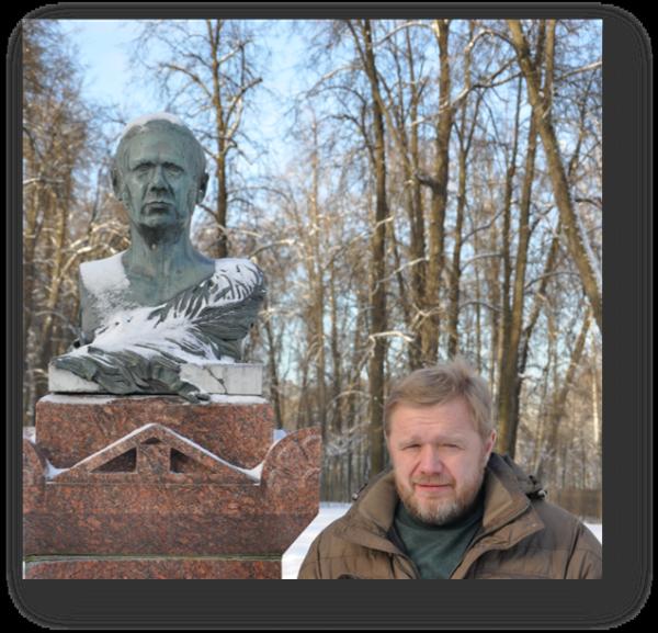 Памятник П.А. Вяземскому в Остафьеве