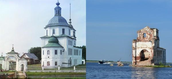 По следам фотографа Прокудина-Горского: русские святыни 100 лет спустя