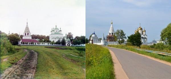Общий вид Ферапонтовского монастыря близ Можайска. 1911/2012 (В. Ратников)