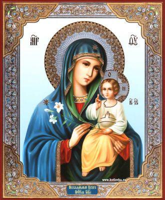 Благоуханный цвет икона божией матери