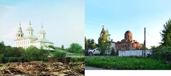 Смоленск. Петропавловская церковь XII века.1912/2012 (В. Ратников)